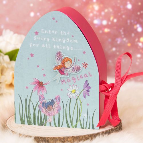 Magical Fairy Keepsake Storage Box - Fairy Design Childrens Bedroom storage box